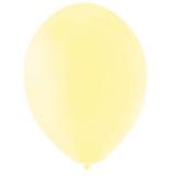 Balony PASTELOWE cytrynowe 25 cm, 100 sztuk