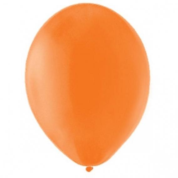 Balony pastelowe Balony PASTELOWE pomarańczowe 25 cm, 100 sztuk