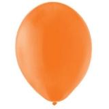 Balony PASTELOWE pomarańczowe 25 cm, 100 sztuk