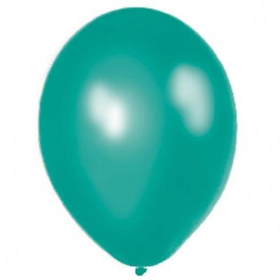 Balony metaliczne Balony METALICZNE morskie 30 cm, 100 sztuk