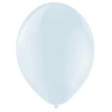 Balony przezroczyste Balony KRYSTALICZNE białe 30 cm, 100 sztuk