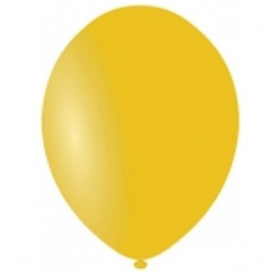 Balony pastelowe Balony PASTELOWE żółte 25 cm, 100 sztuk