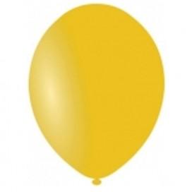 Balony PASTELOWE żółte 25 cm, 100 sztuk