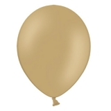 Balony pastelowe Balony PASTELOWE orzechowe 25 cm, 100 sztuk