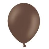 Balony PASTELOWE czekoladowe 25 cm, 100 sztuk