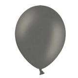 Balony PASTELOWE szare 25 cm, 100 sztuk