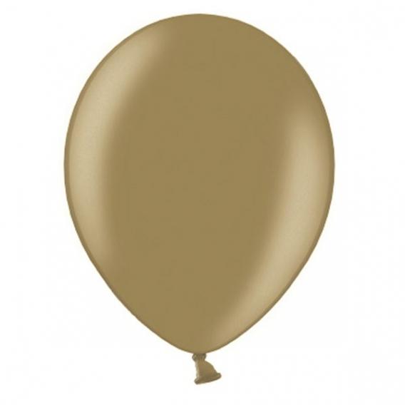Balony metaliczne Balony METALICZNE złoto antyczne 30 cm, 100 sztuk