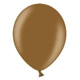 Balony metaliczne Balony METALICZNE czekoladowe 30 cm, 100 sztuk