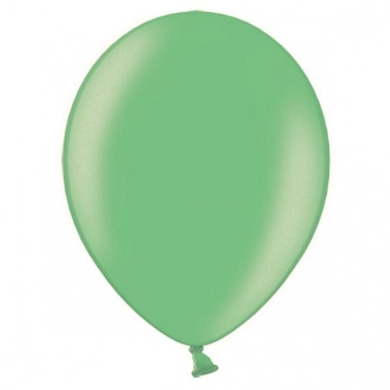 Balony metaliczne Balony METALICZNE turkusowe 30 cm, 100 sztuk
