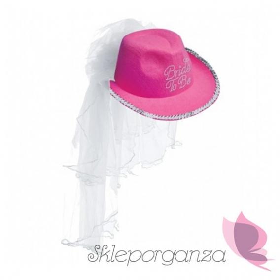 Przebrania Kapelusz Pink Cowboy różowy
