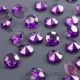 Kryształki Diamentowe konfetti śliwkowe 100 sztuk