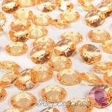 Kryształki Diamentowe konfetti złote 100 sztuk