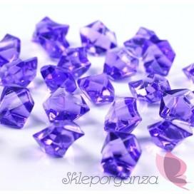 Kryształowy lód liliowy 50 sztuk