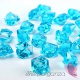 Kryształowy lód turkusowy 50 sztuk