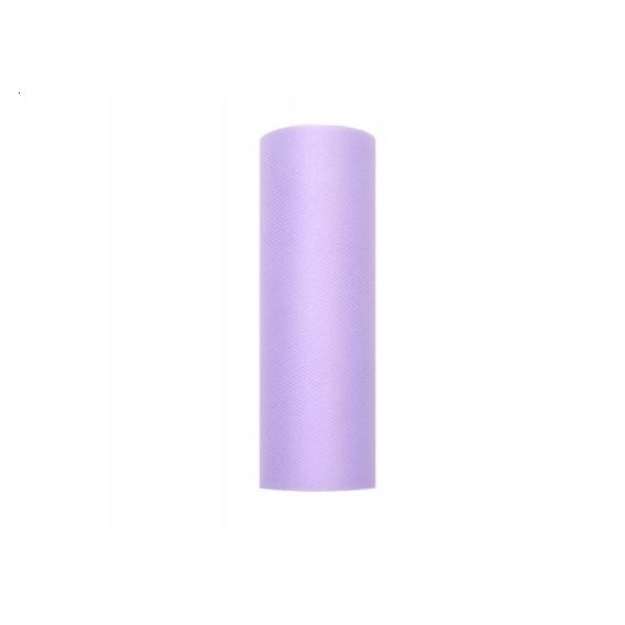 Tiul Tiul liliowy, rolka 15cm x 9m