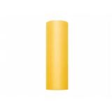 Tiul żółty, rolka 15cm x 9m