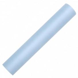 Tiul błękitny, rolka 30cm x 9m