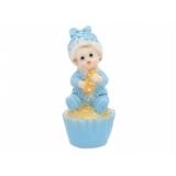 Toppery i figurki Figurka Chłopiec na ciastku