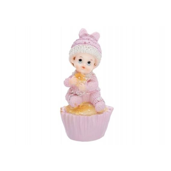 Toppery i figurki Figurka Dziewczynka na ciastku