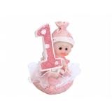 Figurka Dziewczynka 1 urodziny
