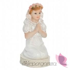 Figurki, toppery i świeczki Figurka komunijna Dziewczynka