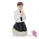 Figurka komunijna Chłopiec