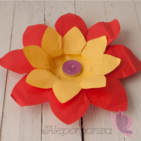 Pływające lampiony Pływające Lampiony - Kwiat lotusu 2