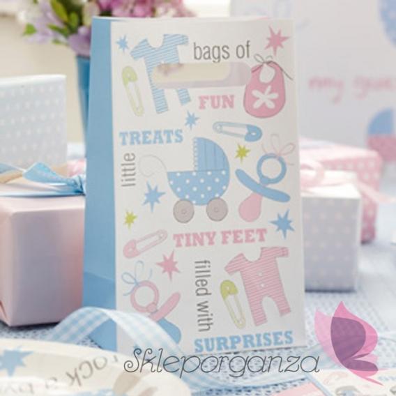 Kolekcja Wózeczek na Baby Shower Torebka WÓZECZEK