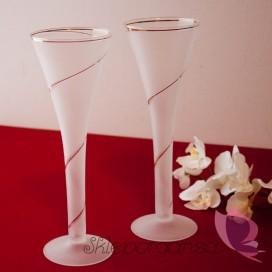 Kieliszki i ozdoby Kieliszki do szampana Martini