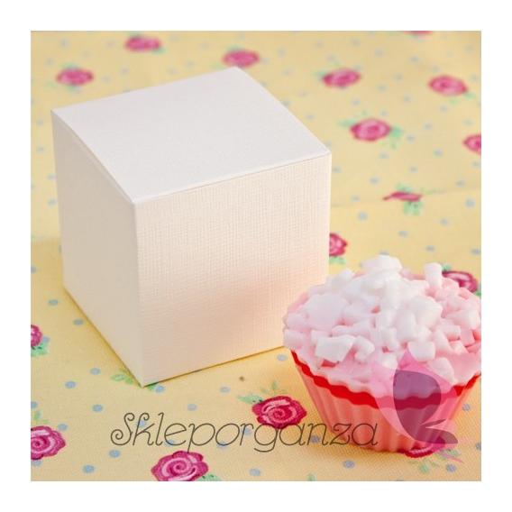 Pudełka i Torebki Pudełko kostka 8cm na babeczki