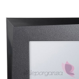 Plan stołów Rama czarna 50cm x 70cm - do planu stołów