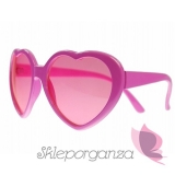 Okulary różowe SERDUSZKA