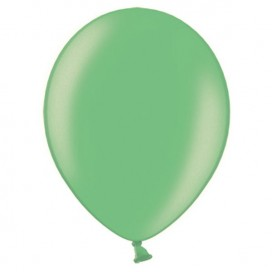 Balony METALICZNE mięta 30 cm, 100 sztuk