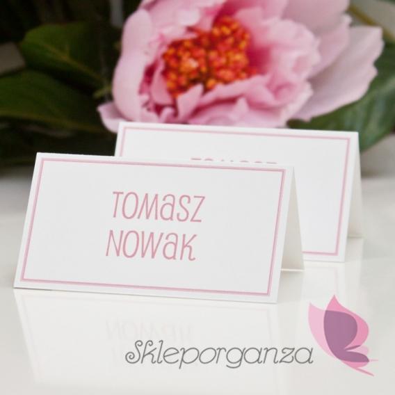 Winietki weselne Winietka - personalizacja kolekcja LOVE