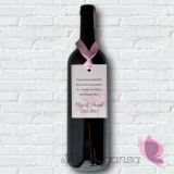 Zawieszka na alkohol - personalizacja kolekcja PIWONIA