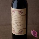 Etykieta na alkohol - personalizacja kolekcja VINTAGE