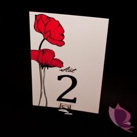 Numery stolików - personalizacja kolekcja MAKI