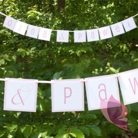 Banery Litera/znak do baneru - personalizacja kolekcja LOVE