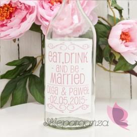 Etykieta na alkohol - personalizacja kolekcja LOVE