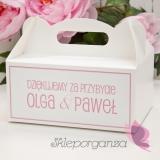 Pudełka na ciasto Pudełko na ciasto - personalizacja kolekcja LOVE