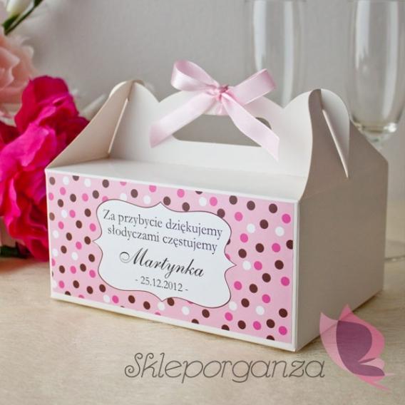 Pudełko na ciasto - personalizacja