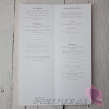 Menu weselne Menu weselne kolekcja MODERN