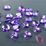 Kryształki Diamentowe konfetti fioletowe 100 sztuk
