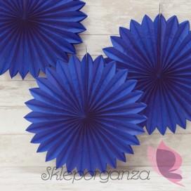 Rozetka ciemnoniebieska 40cm