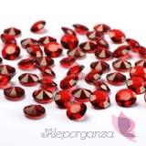 Diamentowe konfetti czerwone 100 sztuk