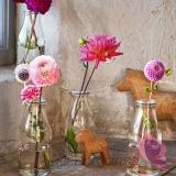 Szklane dekoracje na stół weselny Butelka/wazonik do candy baru
