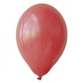 Balony PASTELOWE czerwone 25 cm, 100 sztuk
