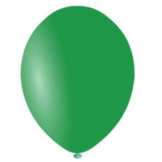 Balony pastelowe na wesele Balony PASTELOWE ciemnozielone 25 cm, 100 sztuk