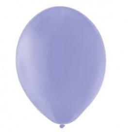 Balony PASTELOWE lawendowe 25 cm, 100 sztuk