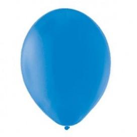 Balony PASTELOWE niebieskie 25 cm, 100 sztuk